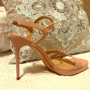 Zara High heeled strapped sandals